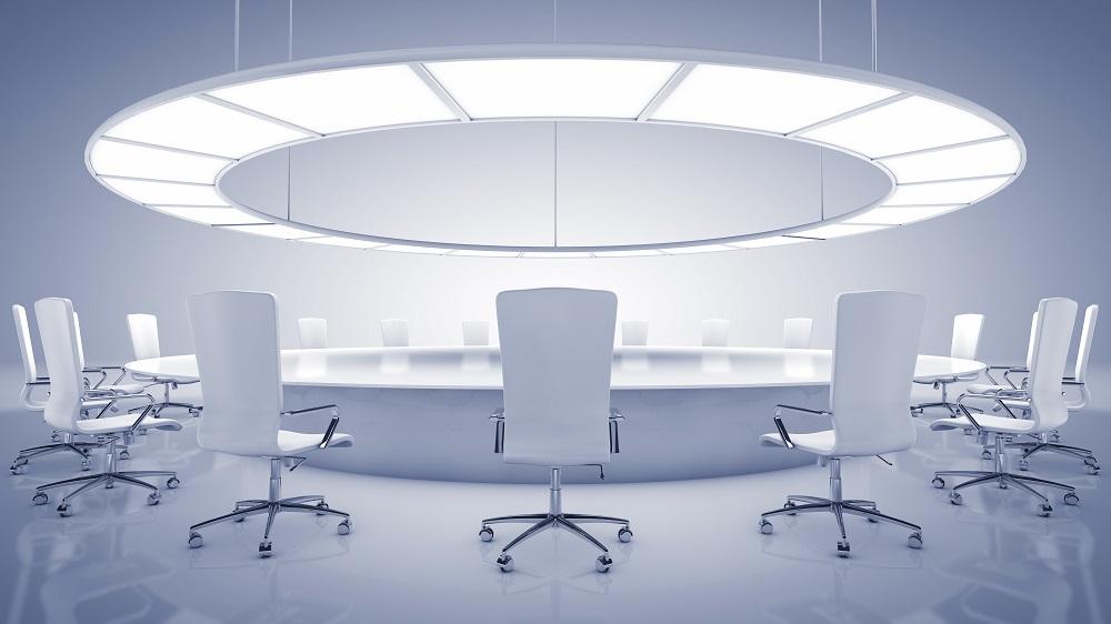 Konferencyjne pomieszczenie